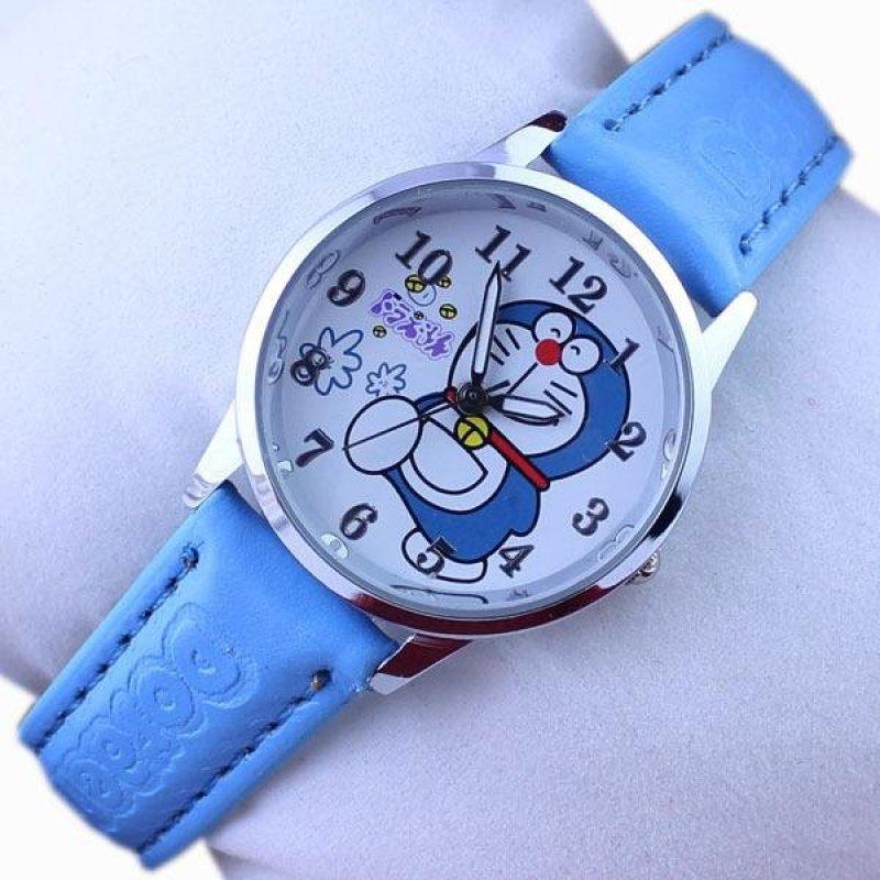Nơi bán Q Phiên Bản Hoạt Hình Thời Trang Hình Doraemon Màu Xanh Vết Cắn của Mèo Đai Trẻ Em Sinh Viên-quốc tế