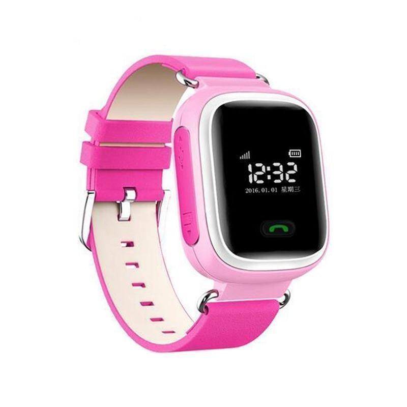 Q60 Đồng Hồ Thông Minh Smart Watch Đồng Hồ Theo Dõi Cuộc Gọi SOS Trẻ Em cho Android iOS iPhone Màu Hồng-intl bán chạy