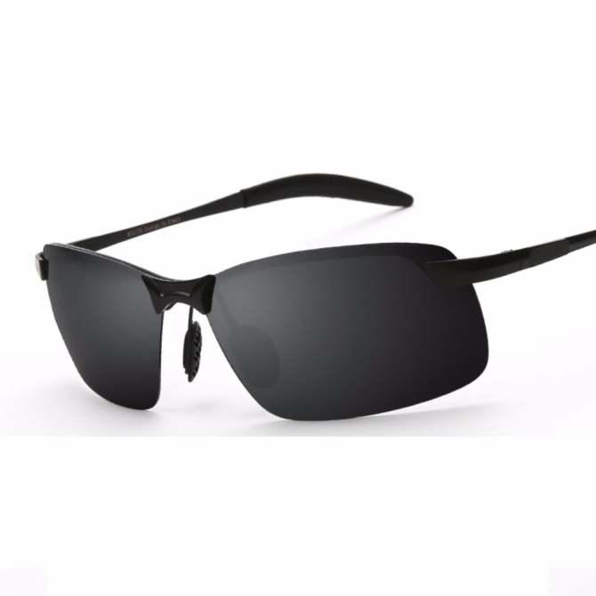 ... RAYKDIA Pilot Frame Men Fashion Kacamata Merek Desainer Retro Vintage  Polarized Sunglasses UV400 3043 Silver Blue 2fdd5faba2