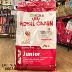 Giá Bán Royal Canin Medium Junior 10Kg Có Thương Hiệu