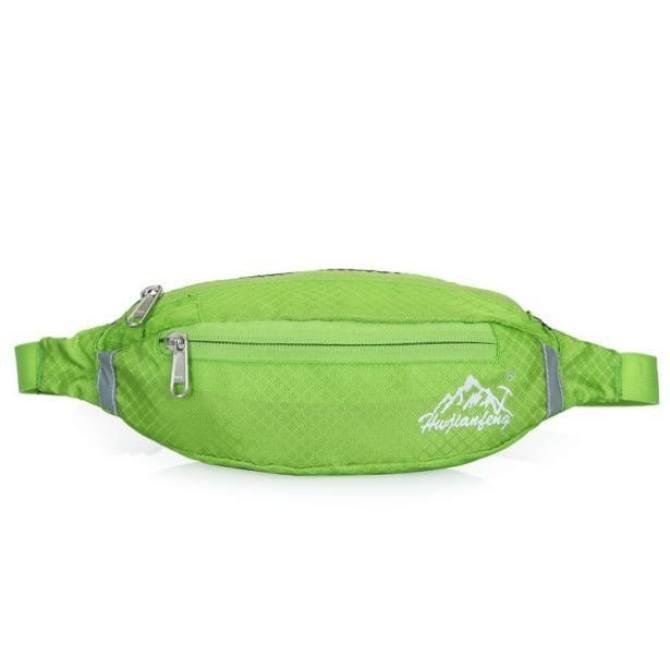 Running Bum Bag Travel Handy Hiking Sport Fanny Pack Waist Belt Shoulder Bag - intl