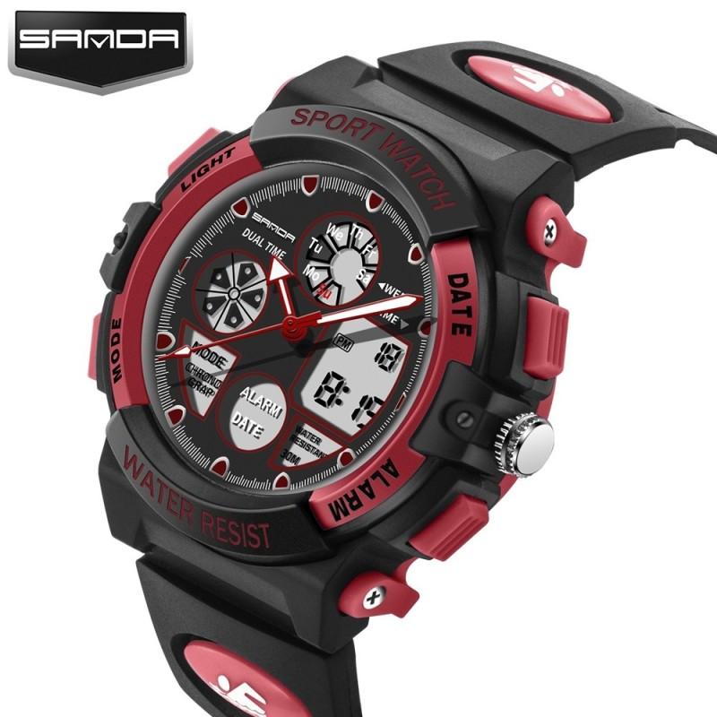 Nơi bán Brand Watch Fashion Children Sports Watches LED Digital Quartz Military Boy Girl Student Multifunctional Wristwatches 116 - intl
