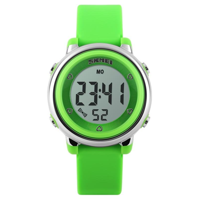 SKMEI Brand Watch 1100 Children LED Digital Watch Relogio Feminino Sports Watches Kids Cartoon Jelly Relojes Mujer Waterproof Wristwatches - intl bán chạy