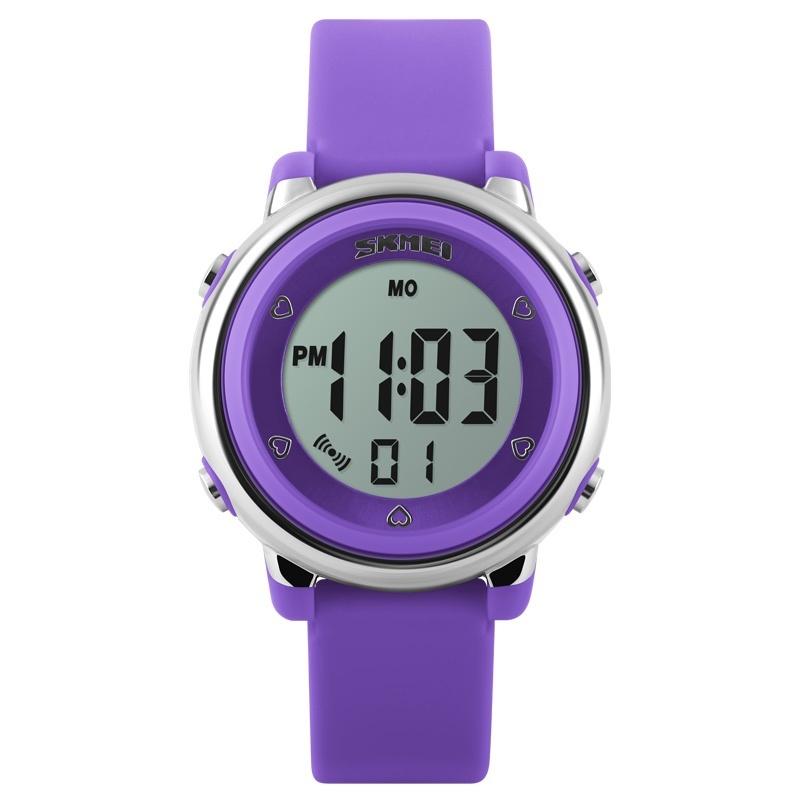 SKMEI Brand Watch 1100 Children watch LED Digital Sports Relojes Mujer Boys girls fashion Kids Cartoon Jelly Waterproof Relogio Feminino - intl bán chạy