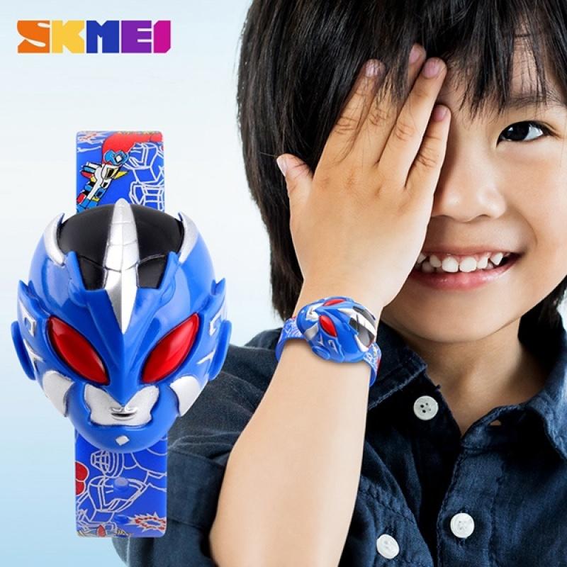 Nơi bán SKMEI Brand Watch 1239 Children Watch Digital Wristwatches Cartoon Superman Toy Shape Dial Sports Watches For Kids Relogio Relojes - intl