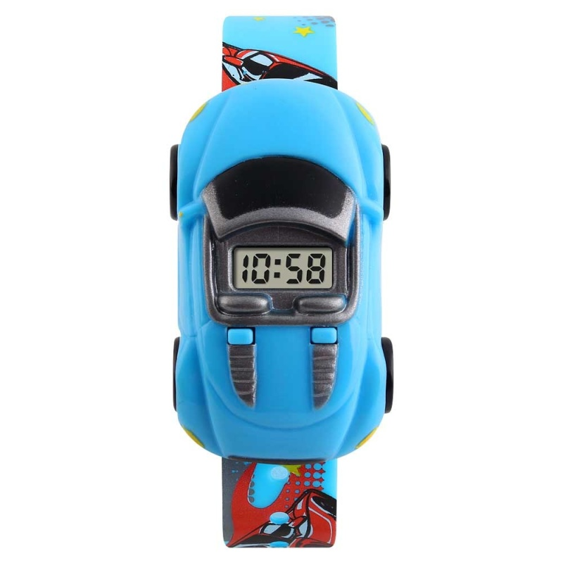 Nơi bán SKMEI Brand Watch 1241 Hot Kids Watches LED Display Sport Wristwatches For Children Car Style Digital Led Cartoon Watch For Boy - intl