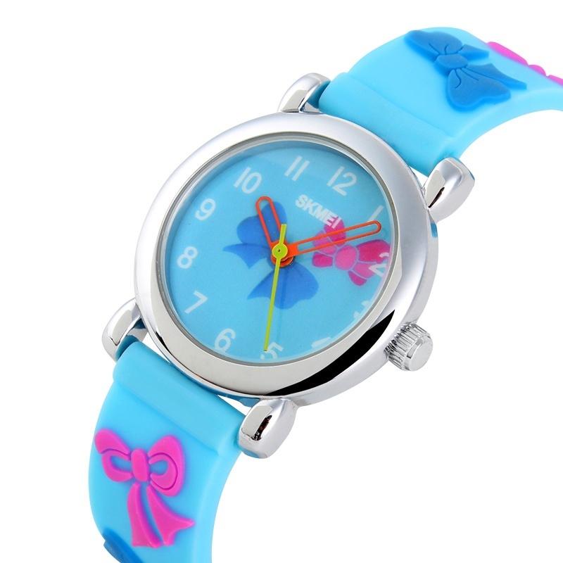 SKMEI Brand Watch Children Quartz Boys Girls Sports Watches Fashion Casual Ladies Wristwatches Jelly Kids Clock girls Students Clock 1047 - intl bán chạy
