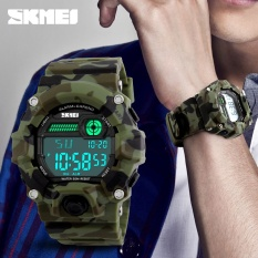 Nơi bán SKMEI Brand Watch Men Sport Watch Outdoor Army Camouflage Military Watch Digital Watch LED Display Fashion Male Big Dial Watch Men1197 - intl