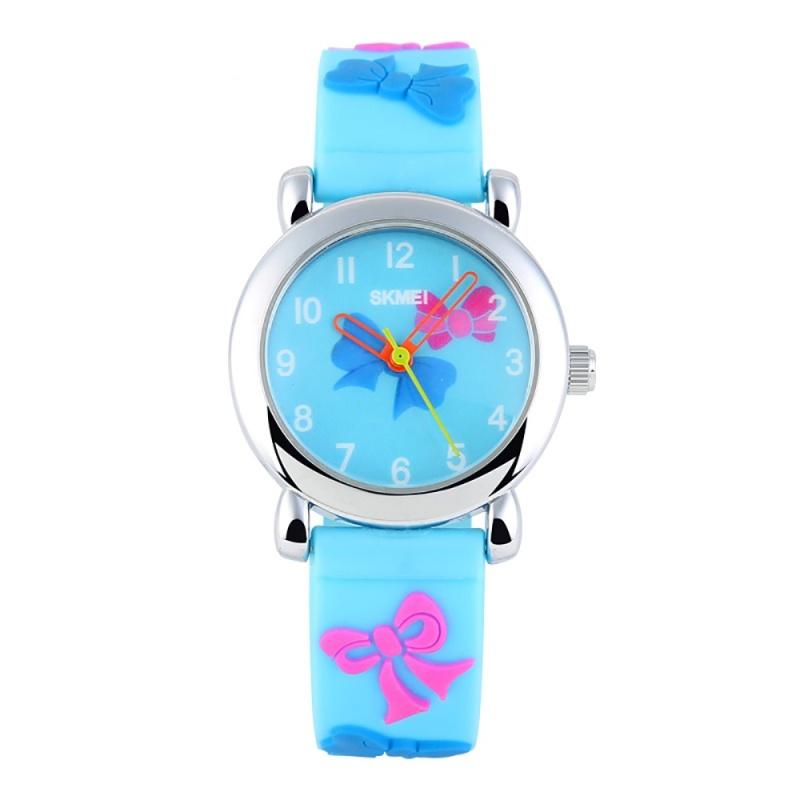 SKMEI Brand Watch Quartz Children Fashion Casual Kids Watches Wristwatches Waterproof Jelly Clock Boys Girls Students Wristwatch 1047 - intl bán chạy