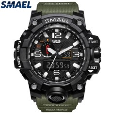 SMAEL Brand Sport Watch Mens Fashion Analog Quartz LED Digital Electronic Watch Men Multifunctional Waterproof Military Watches - intl bán chạy