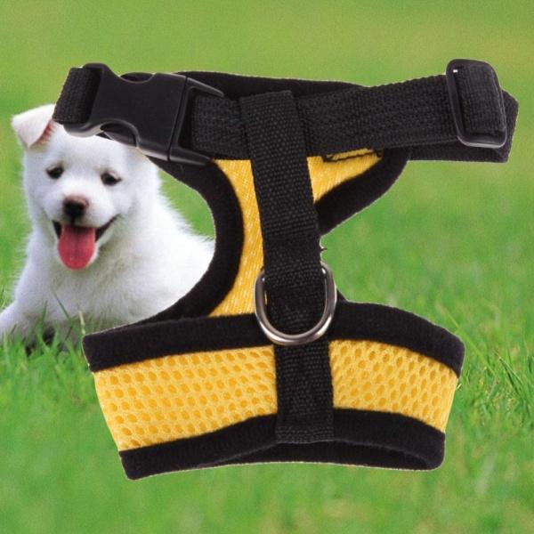 【companionship】Lưới  mềm  Áo  Vest  Cho  Chó  Cưng  Quần  Áo  thú  cưng  Vàng  S-quốc  tế