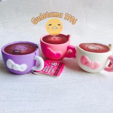 Squishy móc khóa ly cafe ngẫu nhiên