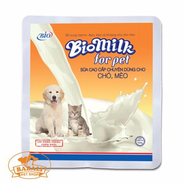 Sữa Bột Bio Milk Cho Chó gói 100gr
