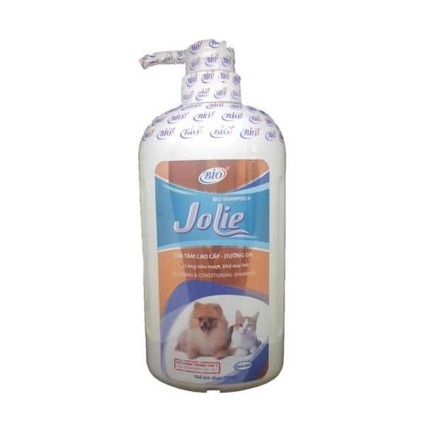 Sữa Tắm cho chó mèo Siêu Mượt Lông Chó Mèo - Bio Jolie 500ml