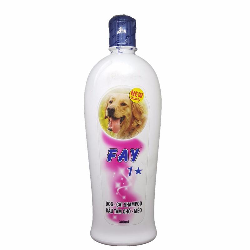 Sữa Tắm Fay 1 Sao, 3 Trong 1 Tiện Dụng Chó Mèo ( 300ml)