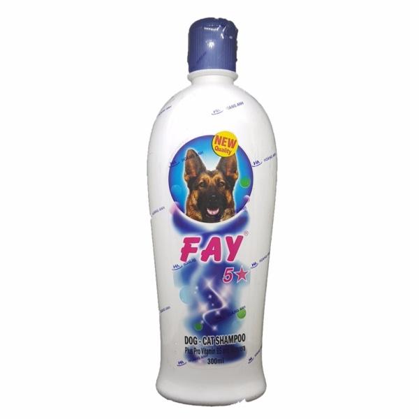 Sữa Tắm Fay 5 Sao, 3 Trong 1 Tiện Dụng Chó Mèo ( 300ml)