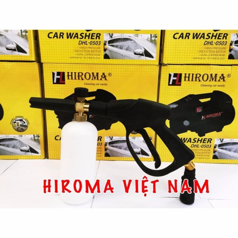 Súng áp lực chất lượng tốt kèm bình phun bọt tuyết HIROMA 02