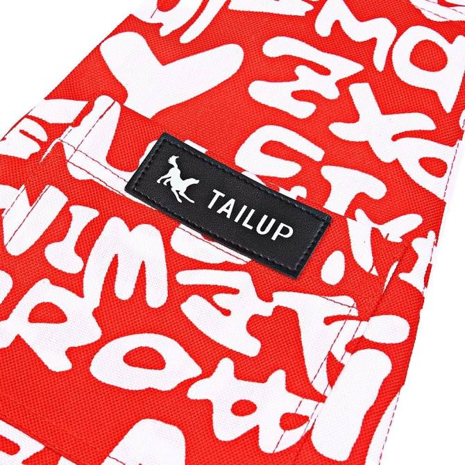 TAILUP Fashion Oxford Cloth Pet Dog Cat Carrier Bag Side Head Out Single Shoulder Pack (SIZE:M) (Red) - intl
