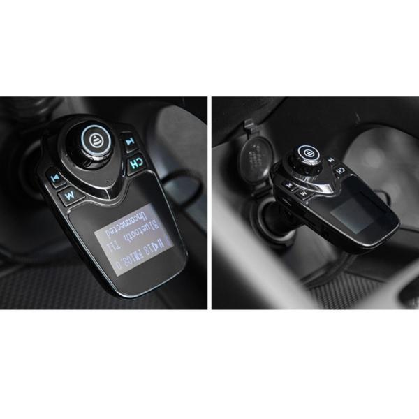 Tẩu sạc và nghe nhạc mp3 qua bluetooth xe hơi ô tô t11