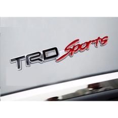 Tem Chữ Sport Kim Loại Dán Xe ô Tô TRD02 Đang Ưu Đãi Giá