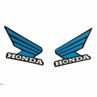 Tem decal dán logo HONDA (xanh) thumbnail