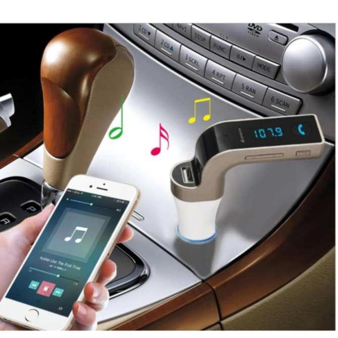 Hình ảnh Thiết bị nghe nhạc, nghe điện thoại, nghe đài, sạc đa công năng dành cho ôtô Carg7