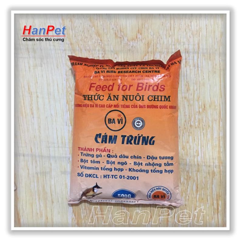 HCM-Thức ăn cho chim(Cám trứng BAVI - 500gr) (hanpet 214)-HP10406TC