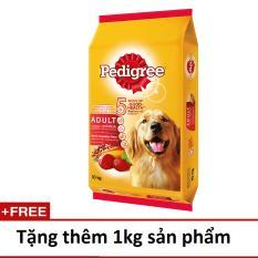 Giá Bán Thức Ăn Cho Cho Pedigree Vị Bo Rau Củ 10Kg Tặng Them 1Kg Pedigree Nguyên