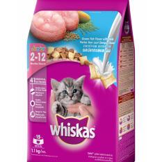 Bán Thức Ăn Cho Meo Con Whiskas Vị Ca Biển Va Sữa Dạng Tui 1 1 Kg