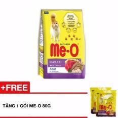 Giá Bán Thức Ăn Cho Meo Trưởng Thanh Me O Vị Hải Sản 1 2Kg Tặng 1 Goi 80G