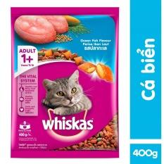 Thức ăn Cho Mèo Whiskas Vị Cá Biển Túi 400g Giá Tốt Không Nên Bỏ Qua