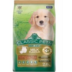 Giá Bán Thức Ăn Classic Pets Danh Cho Cho Con Hương Vị Sữa 2 Kg Có Thương Hiệu
