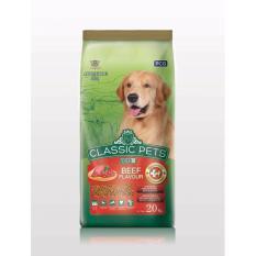 Bán Thức Ăn Classic Pets Danh Cho Cho Lớn Hương Vị Thịt Bo Nướng 20 Kg Trực Tuyến Vietnam