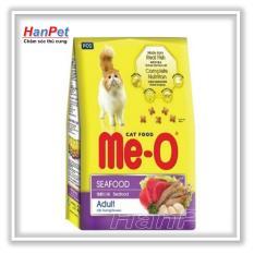 Siêu Tiết Kiệm Khi Mua HN-thức ăn  Dạng Hạt  Cho Mèo Lớn ME-O 350gr ( Vị Hải Sản) Hanpet 201e