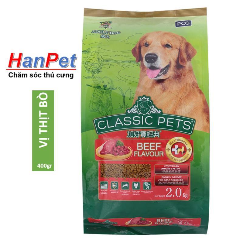 HN-thức ăn  dạng hạt chó trưởng thành CLASSIC PETS - 400gr (hanpet 207) thức ĂN CHUỘT HAMSTER