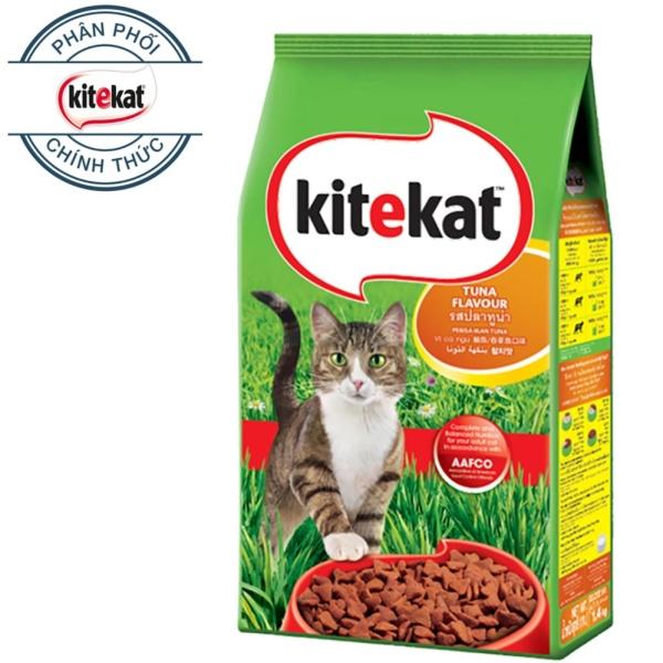 Thức ăn mèo Kitekat vị cá ngừ túi 1.4kg