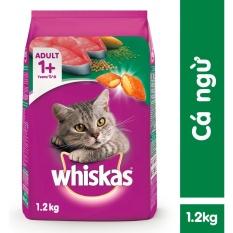 Thức ăn Mèo Whiskas Vị Cá Ngừ Túi 1.2kg Có Giá Cực Tốt