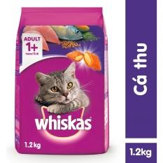 Thức ăn Mèo Whiskas Vị Cá Thu Túi 1.2kg Giá Tiết Kiệm Nhất Thị Trường