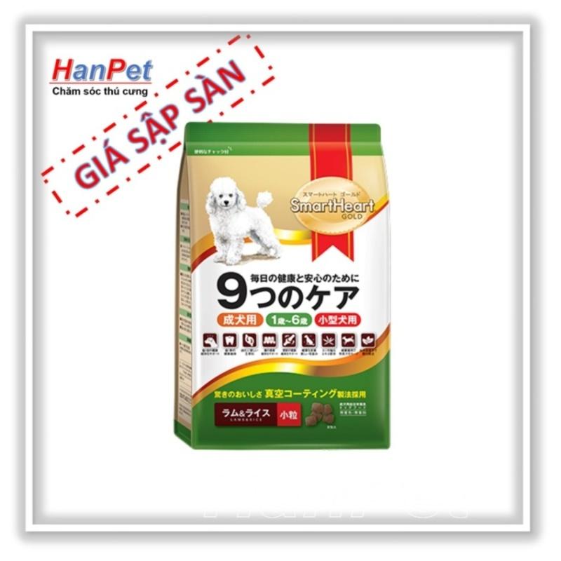 Thức ăn  Smartheart Gold gói 1kg - loại cho chó cỡ nhỏ (Lazadiep 216)