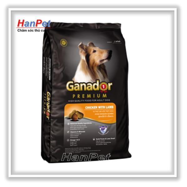 Thức ăn viên cao cấp Ganador Adult gói 1,5kg  - Dành cho chó trưởng thành (HoaMy A 210)