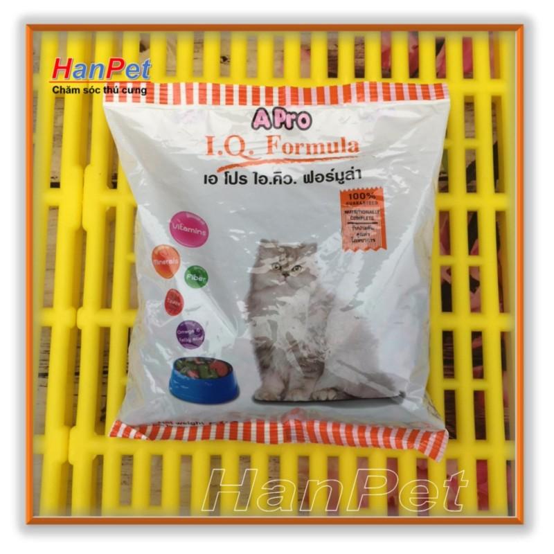 HN-COMBO 5 GÓI (mỗi gói 500gr) thức ăn viên cho mèo APRO - Xuất xứ Thái Lan - Dùng cho mèo mọi lứa tuổi  (hanpet 23