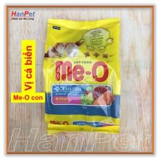 HN-thức ăn Viên Cho Mèo Con  Me-O KITTEN 400gr (vị CÁ BIỂN) (hanpet 204D) Có Giá Cực Tốt