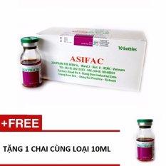 Thuốc phòng trị ve, rận, bọ chét, ghẻ cho vật nuôi Asi-ECOTRAZ 250(dung dịch đậm đặc) + Tặng 1 chai 10ml Nhật Bản