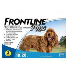Thuốc Trị Ve Rận Bọ Chet Frontline Plus For Dog 10 20Kg Tuýp Lẻ Oem Rẻ Trong Hà Nội