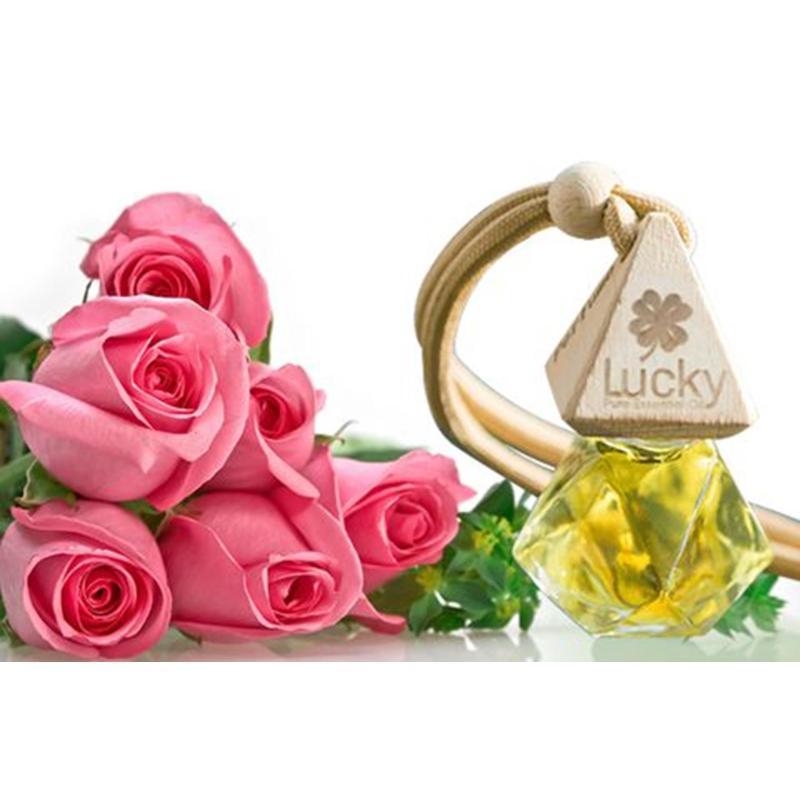 Tinh dầu thơm- tinh dầu treo hương hoa, hương trái cây Tinh dầu thơm khử mùi treo trong xe ô tô nhiều màu
