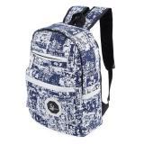 Giá Bán Trendy Ladder Lock Zipper Portable Travel Sch**l Bag Backpack Intl Trong Trung Quốc