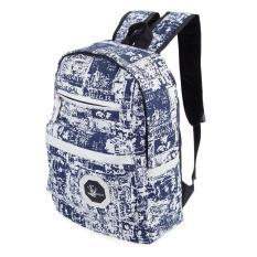 Trendy Ladder Lock Zipper Portable Travel Sch**l Bag Backpack Intl Mới Nhất
