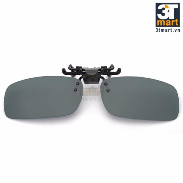 Giá bán Tròng kính mát kẹp phân cực cho người cận 3Tmart RE02XL (xanh lá)