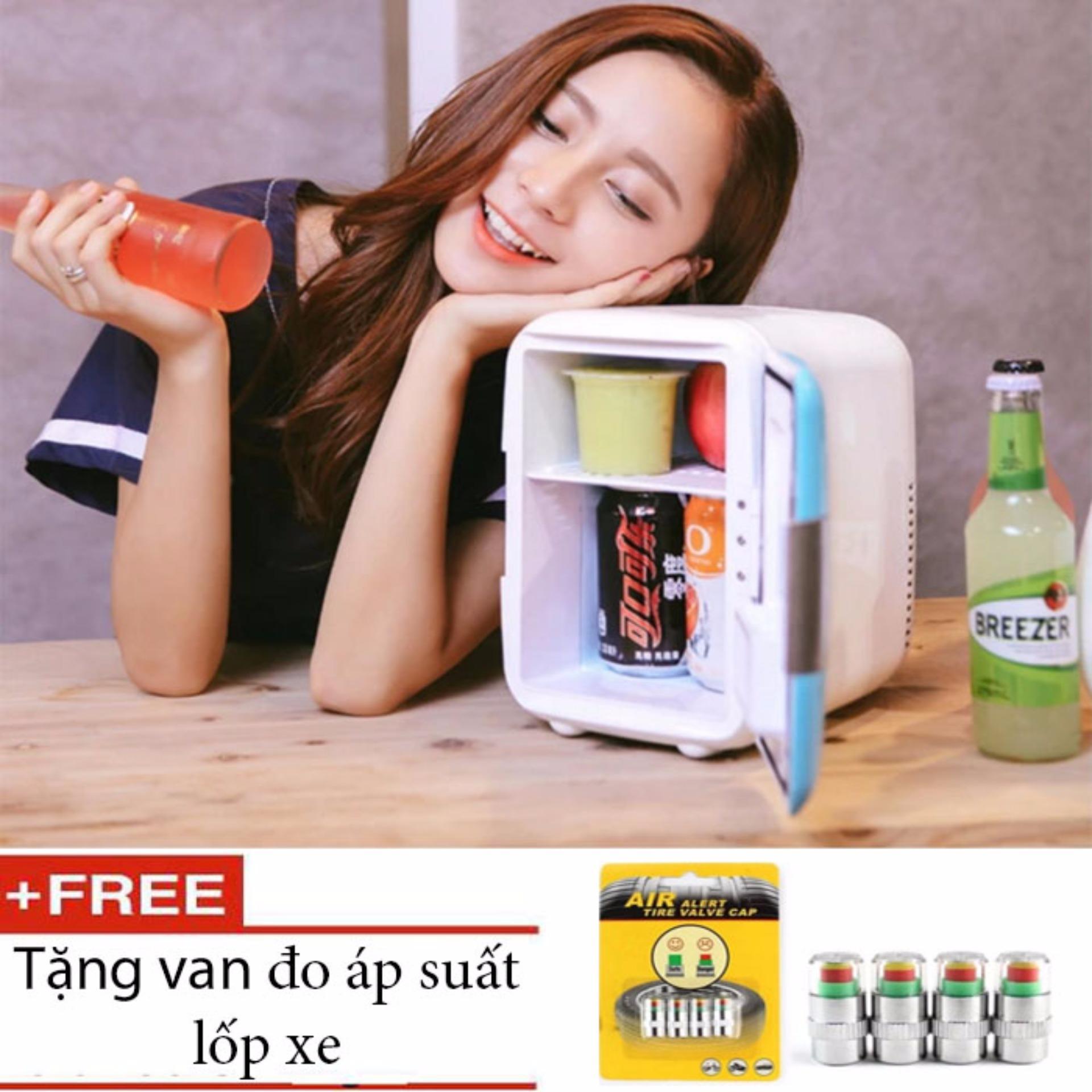 Mua Tủ Lạnh Mini Cao Cấp Cho O To 2018 Tặng Kem Van Đo Ap Suất Lốp Xe Mới