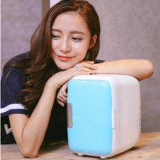 Bán Tủ Lạnh Mini Cho O To Xe Hơi Sieu Mat Mẫu Xanh Da Trời Có Thương Hiệu